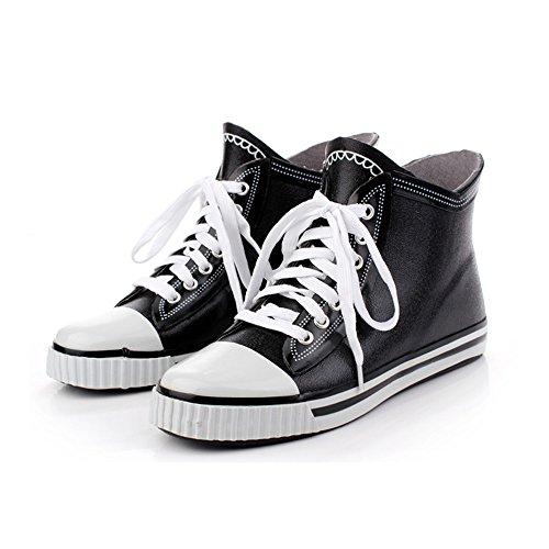 Eu tamaño Cortos Lluvia Hombres Agua 37 3 Xiuzhifuxie Señoras Goma Zapatos Damas De Botas Para 1 w0SqRxR4ZP