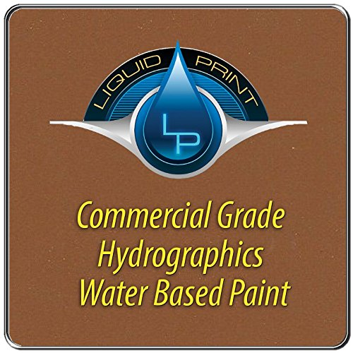 Light Brown Hydrographics Paint - 1 Quart - Water Based - Liquid Print Hydrographics Paint Supplies by Liquid Print