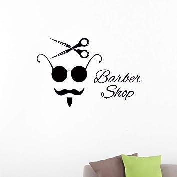 pegatinas de pared Cartel del pelo del vintage salón de ...