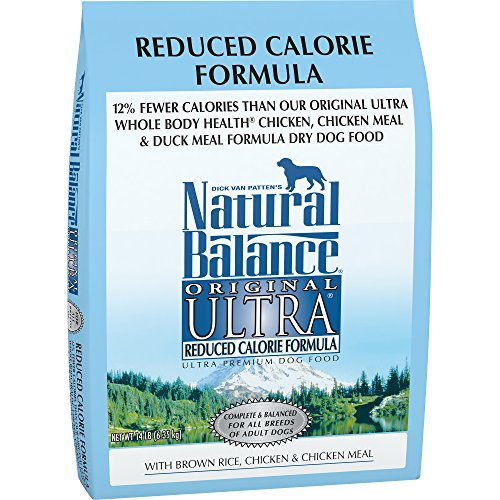 Natural Balance Original Ultra Reduced Calorie Formula Dry Dog Food, 14-Pound by Natural Balance