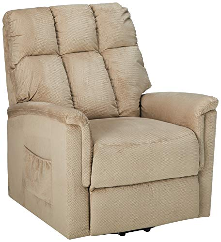 Harper&Bright Designs Power Lift Chair Soft Fabric Recliner Lounge Living Room Sofa with Remote Control Review