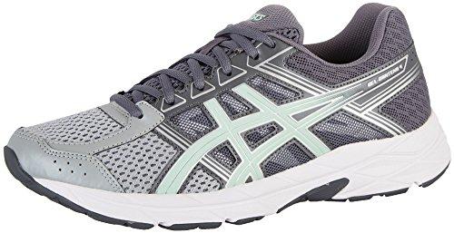 ASICS Women's Gel-Contend 4 Running-Shoes, Mid Grey/Glacier Sea/Silver, 9 Medium US