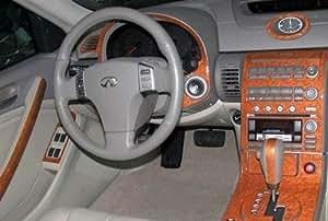 Infiniti G35 G 35 G 35 2 Door Coupe Interior Burl Wood Dash Trim Kit Set 2003 2004