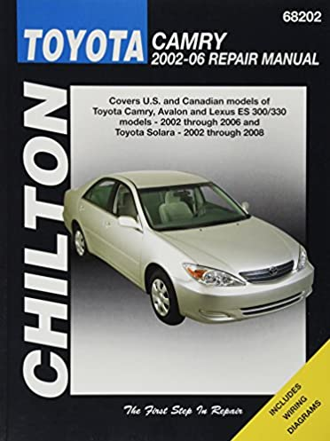 Chilton Total Car Care Toyota Camry Avalon Lexus Es 300 330 2002 Rh Amazon  Com 2004 Toyota Camry Solara Owners Manual 2004 Toyota Camry Factory Service  ...