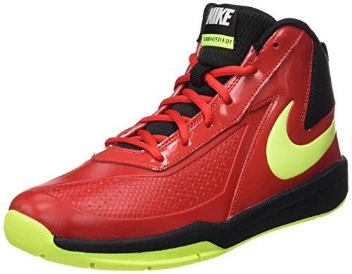 Nike 747998 601, Zapatillas de Baloncesto Unisex Adulto Varios colores (Univ Red /     Volt Black)