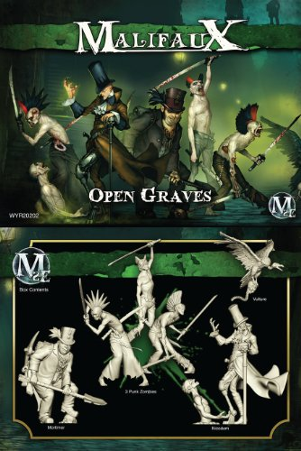 Wyrd Miniatures 20202 Resurrectionists Open Graves 6 WYR20202