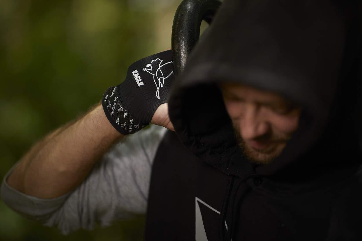 il più economico soddisfare negozio del Regno Unito Allenamento PILESIL Eagle Grips 2h e 3H Bodybuilding Protezioni ...