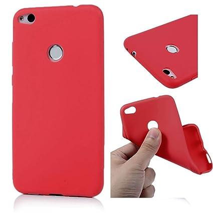 Funda HuaWei P8 Lite 2017, Carcasa HuaWei P8 Lite 2017 Silicona Gel, OUJD Mate Case Ultra Delgado TPU Goma Flexible Cover para HuaWei P8 Lite 2017 - ...