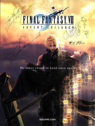 Amazon Com Final Fantasy Vii Advent Children Poster