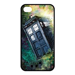 Custom Police Call Box Tardis Rubber Protector Cover Case for iPhone 5s for kids TPU