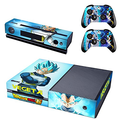 Vanknight Vinyl Decal Skin Stickers Cover Anime for Xbox One Console Kinect 2 Controllers (Best Selling Anime Franchises)