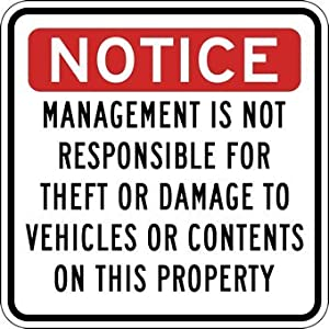 Amazon Com Management Is Not Responsible For Theft Or