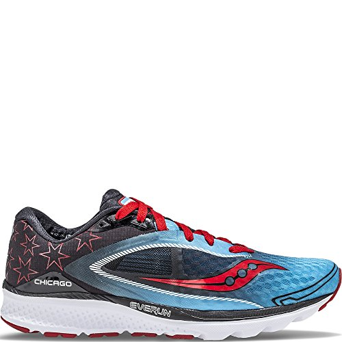Red Kinvara 7 Shoe Saucony Blue Women's Running Black 6q5ww0gO