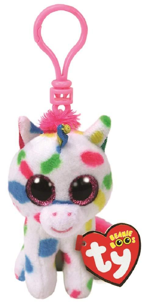 Amazon.com: TY TY Beanie Harmonie – moteado de unicornio ...