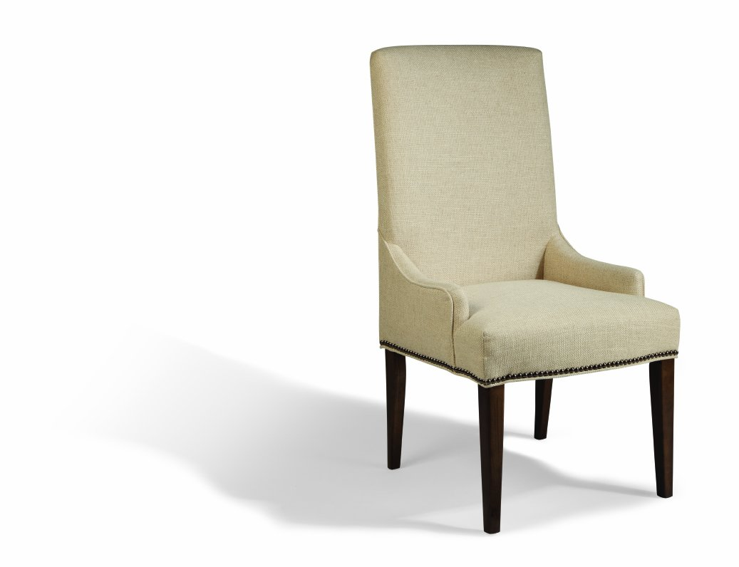 Amazon.com   Magnussen D2503 63 Rothman Warm Stained Finish Upholstered  Chair, Set Of 2   Chairs