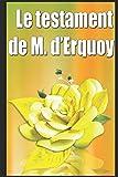 Le testament de M. d'Erquoy (French Edition)