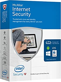 McAfee Internet Security 2016 Software