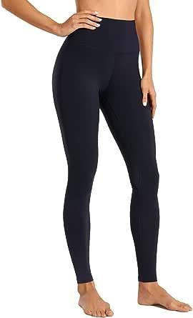 CRZ YOGA Women's Naked Feeling I Full-Length High Waisted Yoga Pants Workout Leggings - 28 Inches