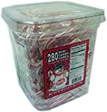 Brach's the Original Bob's Naturally Flavored Peppermint Red & White Candy Canes (Mini (0.15 oz) 285 ct)