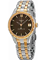 Tissot LADY T072 T0722072229800 Ladies Watch - Pink-golden and silver steel Band