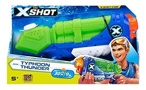 Spider Man Water Gun - ZURU X-Shot Water Blaster Gun Medium Typhoon Thunder