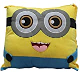 KAYKON Minion Pillow Stuffed Plush Toy Premium Quality Fabric Pillow for Kids - 18 inch/45 cm