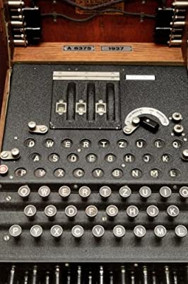 Enigma Encryption Cryptologic World War II: Blank 150 page lined journal for your thoughts, ideas, and inspiration