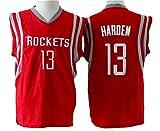 Men's Adult #13 James Harden Jersey Red XL