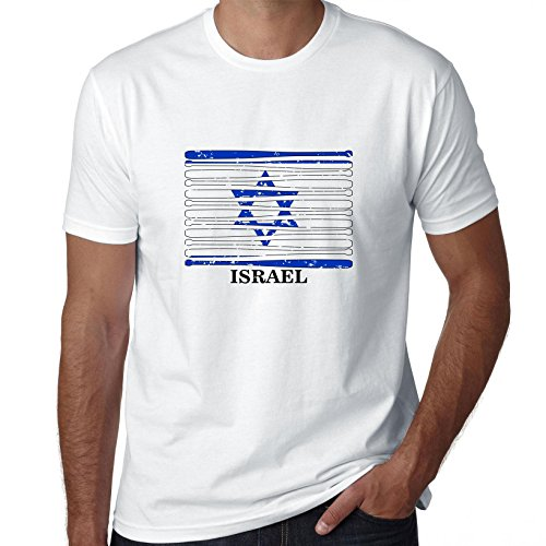 Hollywood Thread Israel Baseball Classic - World Vintage Bats Flag Men's T-Shirt
