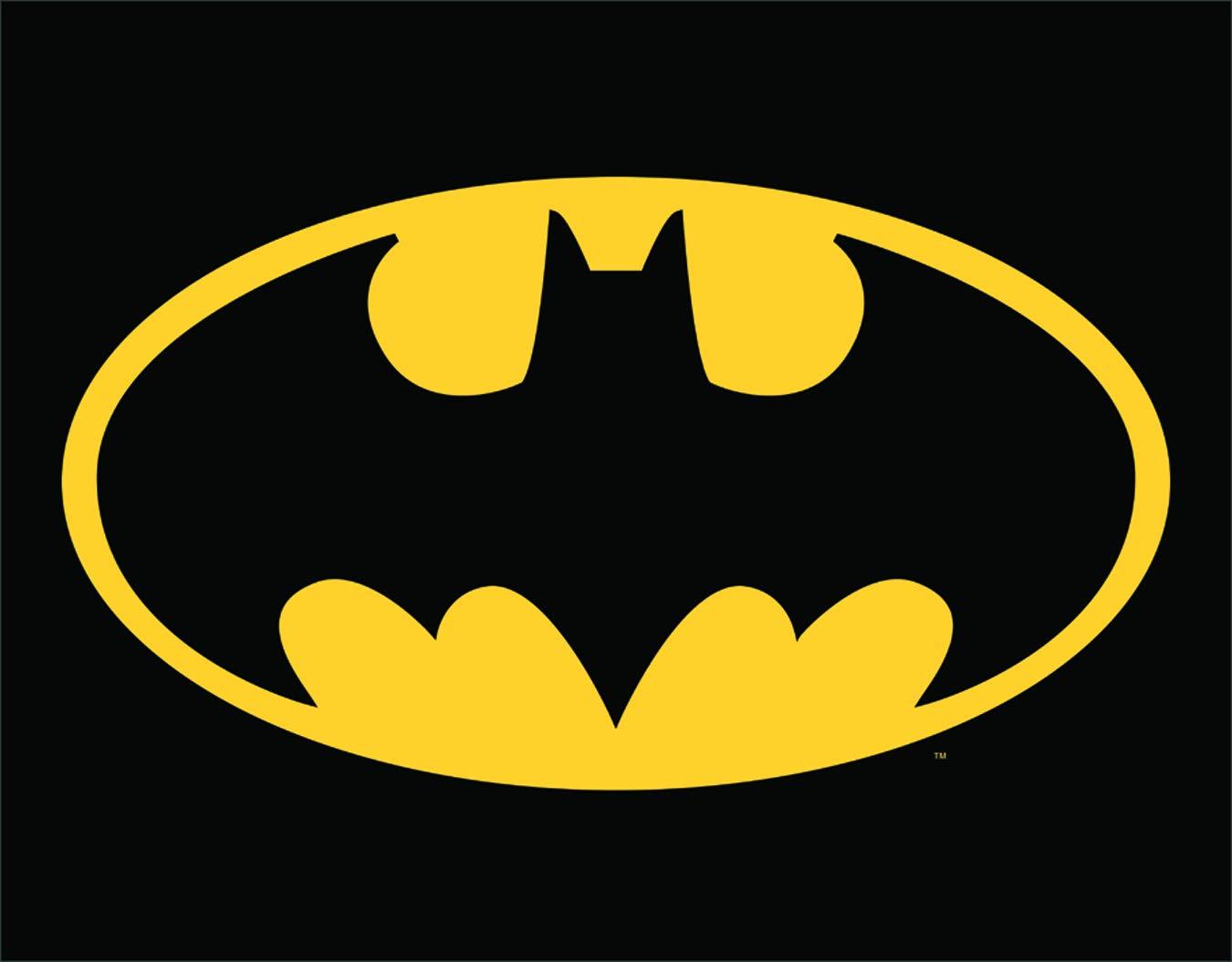 Poster Discount Cartel de estaño con el Logotipo de Batman ...