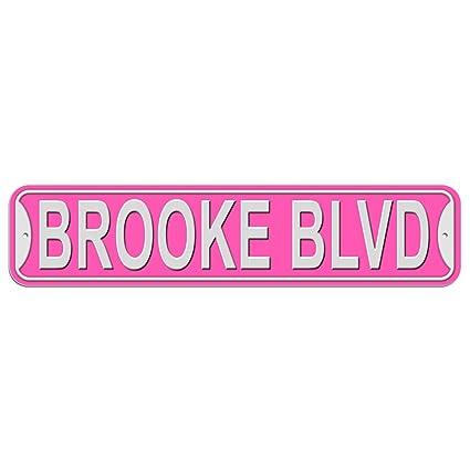 Brooke Name Purple