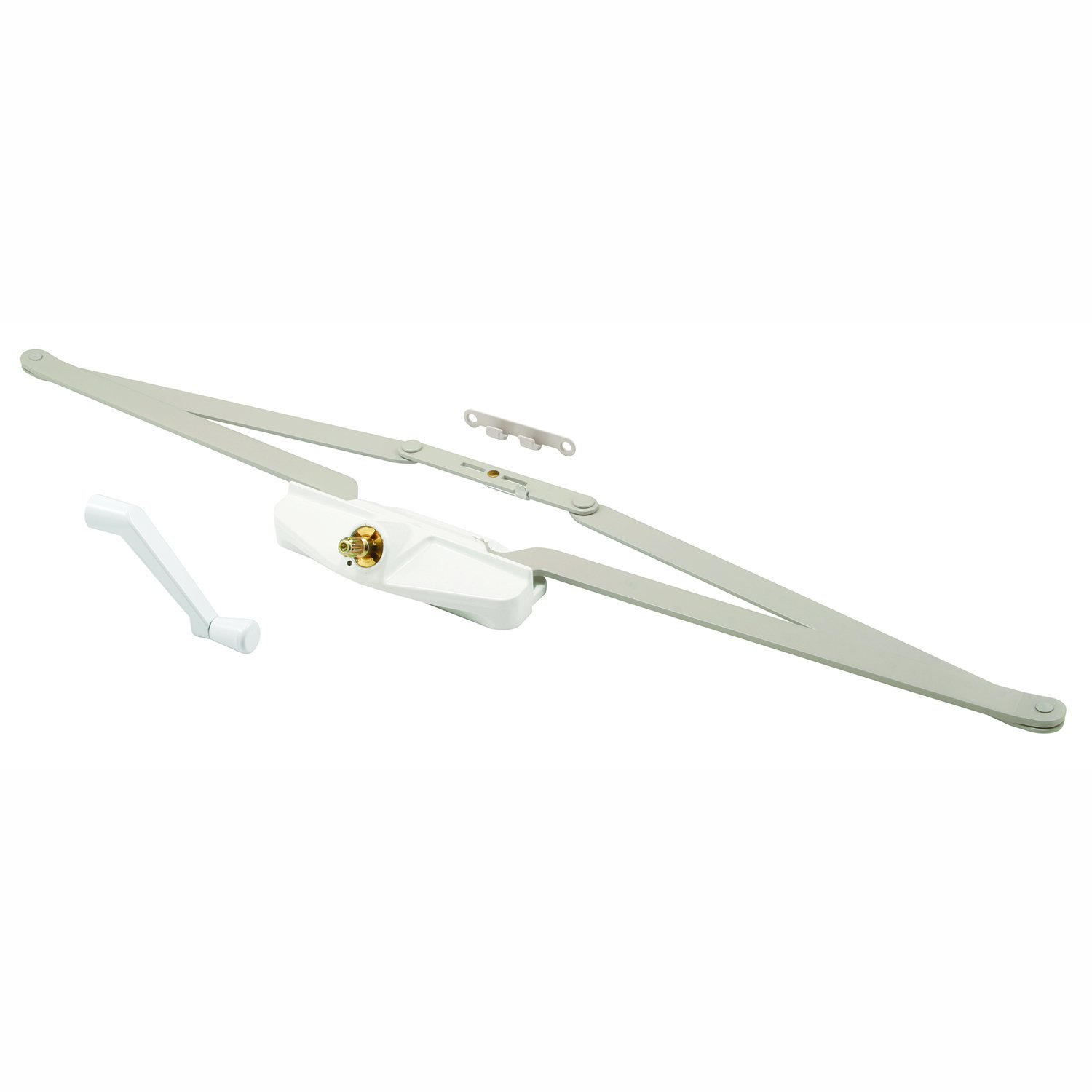 Prime-Line Products TH 23010 Roto Gear Awning Operator with Crank, 21-1/2-Inch, White