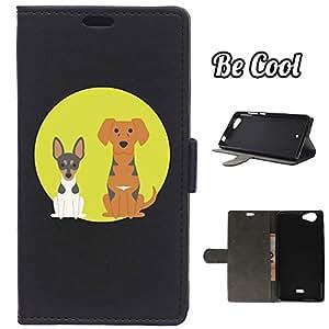 BeCool® - Funda carcasa tipo Libro para Wiko Pulp FAB protege tu Smartphone ya que se adapta a la perfección, tiene Función Soporte, ranuras para tus tarjetas y billetes sin olvidar nuestro exclusivo diseño