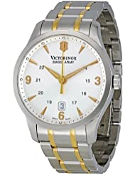 Victorinox Swiss Army Mens 241477 Silver Dial Watch