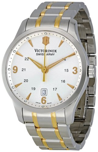Victorinox Swiss Army Men's 241477 Silver Dial Watch