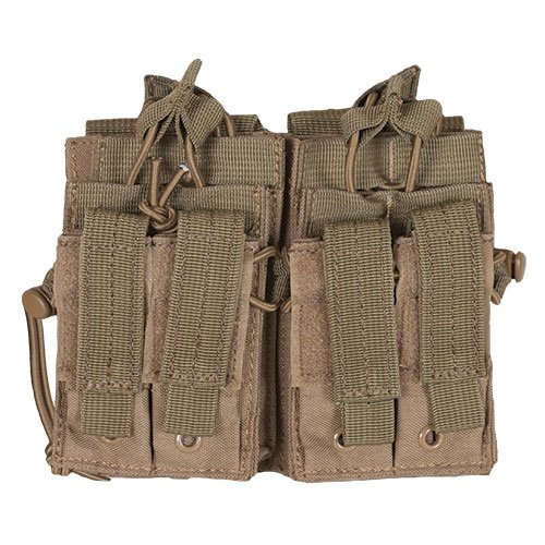 Fox Outdoor Products Tactical Quad Stack, Coyote (Tactical Quad)