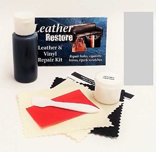 UPC 755702010221, Leather Repair Kit with READY TO USE Color, SILVER GRAY