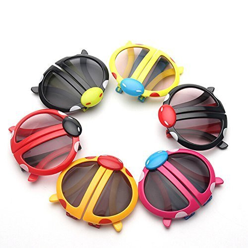 8e3c9326cb MSGH Colourful Foldable Sunglasses for Kids (Multicolour) -Pack of 6   Amazon.in  Clothing   Accessories