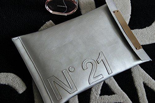 Pochette M silver Other pour femme 8Ya8Fq