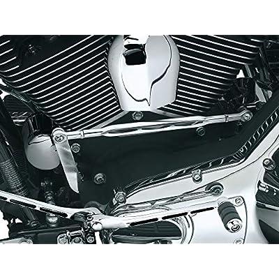 Kuryakyn 9054 Girder Shift Linkage for 1980-2020 Harley-Davidson Motorcycles, Chrome: Automotive