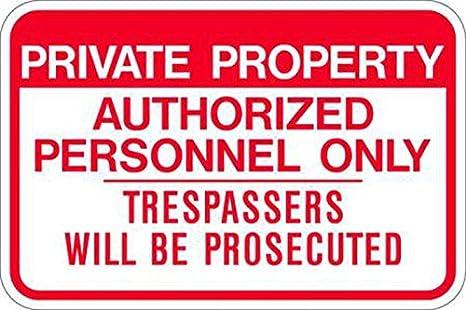 Zing Eco (señal de prohibido aparcar, propiedad privada ...