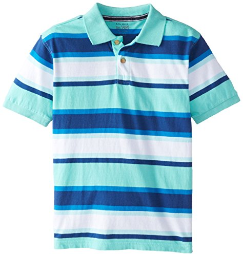 The Children's Place Big Boys' Short Sleeve Pace Stripe Polo