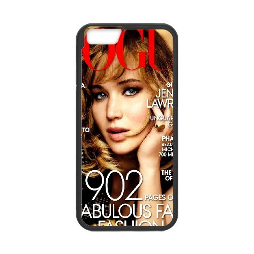 "LP-LG Phone Case Of Jennifer Lawrence For iPhone 6 (4.7"") [Pattern-6]"