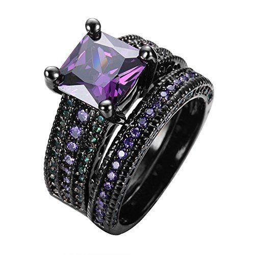 Purple Stone Ring Amazon