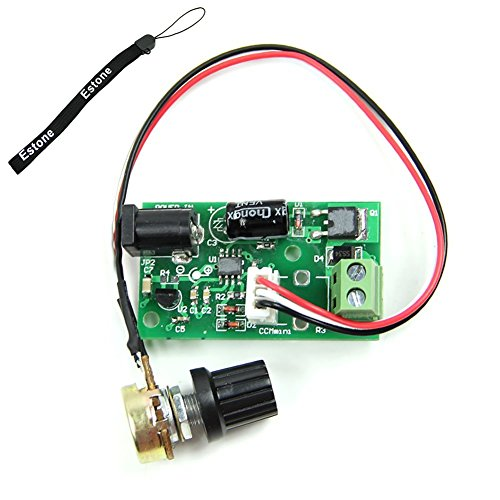 Estone Hi-Q Pulse Width PWM DC Motor Speed Regulator Controller Switch 6V 12V 24V 3A