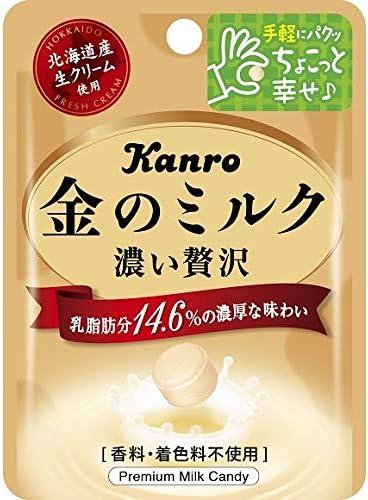 カンロ 金のミルクキャンディ ミニパック 1箱(6袋)