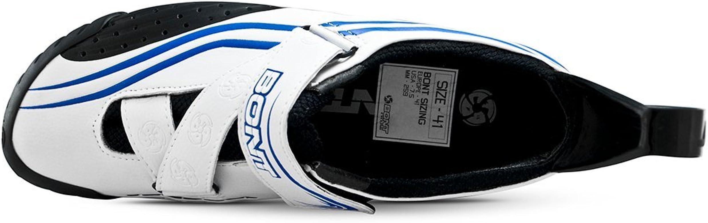 Bont Sub 10 Triatlón Zapatillas de Ciclismo Blanco/Azul Talla 41 ...
