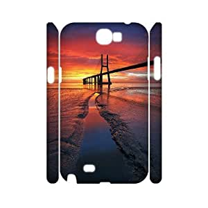 Sunrise 3D-Printed ZLB547014 DIY 3D Phone Case for Samsung Galaxy Note 2 N7100