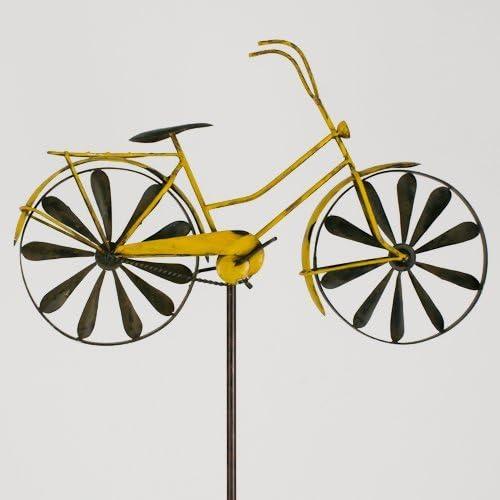 colourliving Carillon Vélo Métal éolienne bicylce Yellow ...