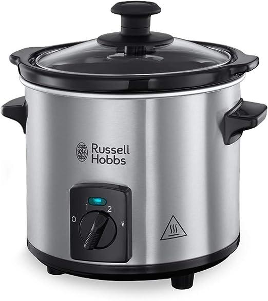 Russell Hobbs Compact Home - Olla de Cocción Lenta Compacta (Olla ...